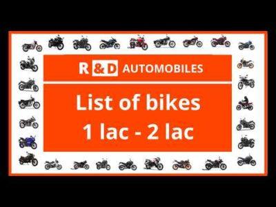 Greatest bikes in India from 1 lakh to 2 lakh rupees | Listing of Bikes | 2020|BAJAJ|KTM|YAMAHA|HERO|SUZUKI