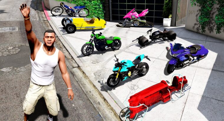 Accumulating TRILLIONAIRE SUPER BIKES in GTA 5!
