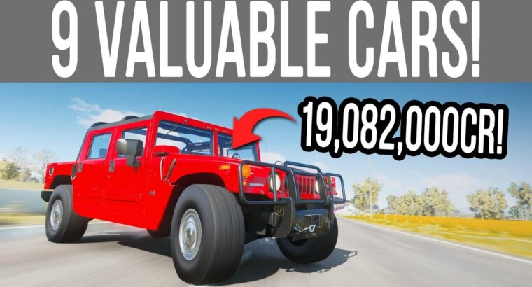 Forza Horizon 4 – 9 NEW Beneficial Vehicles That SELL For Hundreds of thousands of Credit!