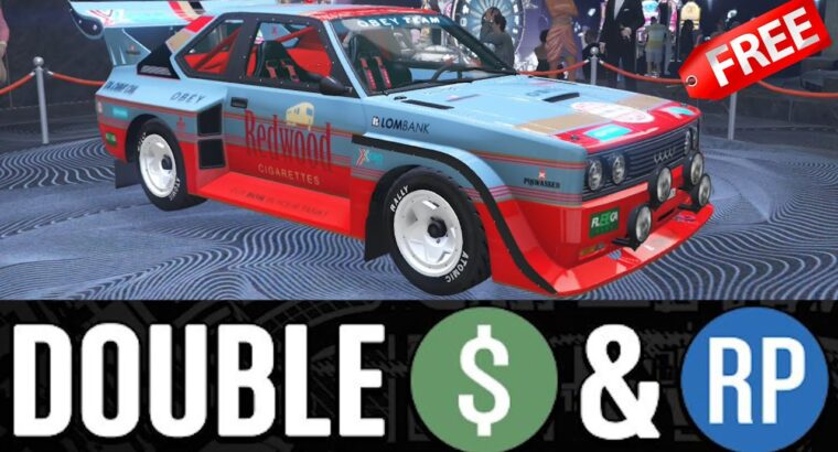 GTA 5 – New Years Occasion Week – DOUBLE MONEY & Reductions (Property & Car)