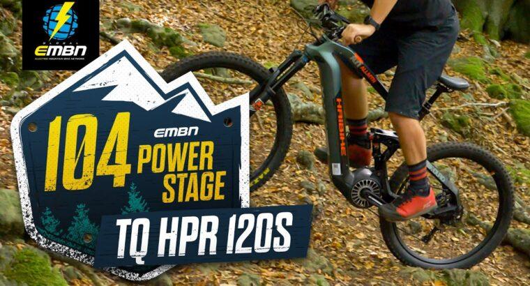 How Quick Is The TQ HPR 120s E Bike Motor? | EMBN's 104 Hill Climb Problem