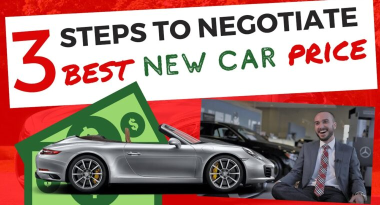 Easy methods to Purchase a New Automobile from a Seller in 2020 and Negotiate the Greatest Worth