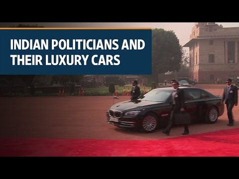 Indian politicians and their luxurious vehicles