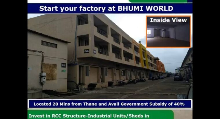 Industrial property to lease in India, Bhiwandi at Bhumi World Industrial Park Close to Thane