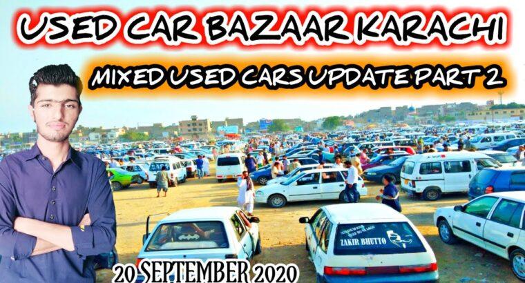 Karachi Used Automobiles Bazaar||Sunday Automobiles Market 20 September 2020 Newest Replace Half 2||Revenue World