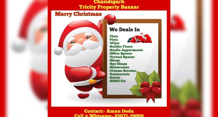 Marry Christmas, Chandigarh Tricity Property Bazaar
