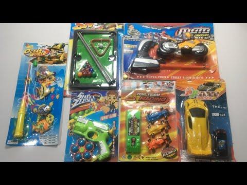 My Newest Most cost-effective toys Assortment, rc automobile, launcher bike, mini brief gun, launcher f1 racing automobile
