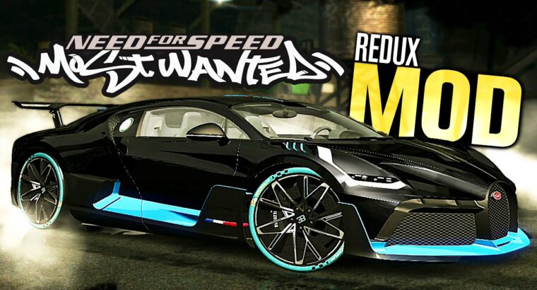 NFS Most Needed BEST Graphics REDUX MOD! (New Vehicles, Textures & Customization)