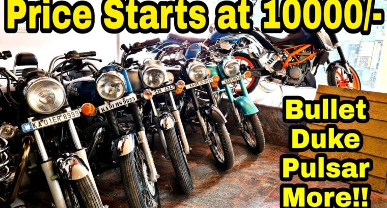 Second hand Bikes and Scooter at much less value Sale || Bullet ,Duke, Pulsar