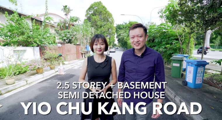Singapore Landed Property Itemizing Video – Yio Chu Kang Highway Semi Indifferent Home For Sale