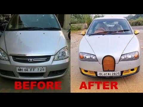 Tata Indica Modified To Bugatti Veyron | Indian Automobiles Modification
