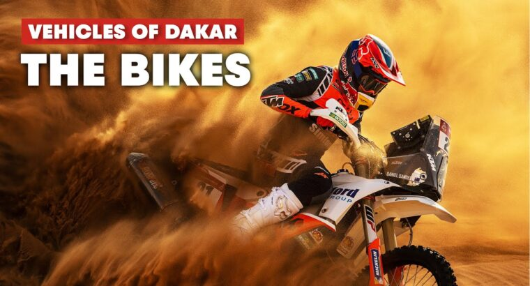 The Most Difficult and Harmful Class: The Bikes of the Dakar Rally