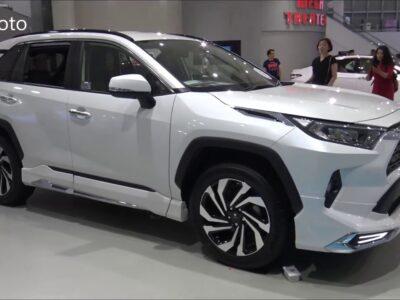 The brand new TOYOTA RAV4 2020