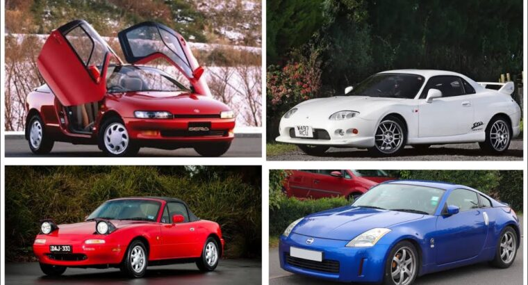 Prime 10 JDM CARS on the market in India beneath 20 lakhs!