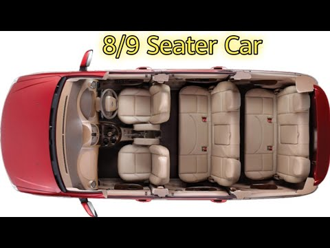 High four Greatest 8/9 Seater Automobiles in India 2019
