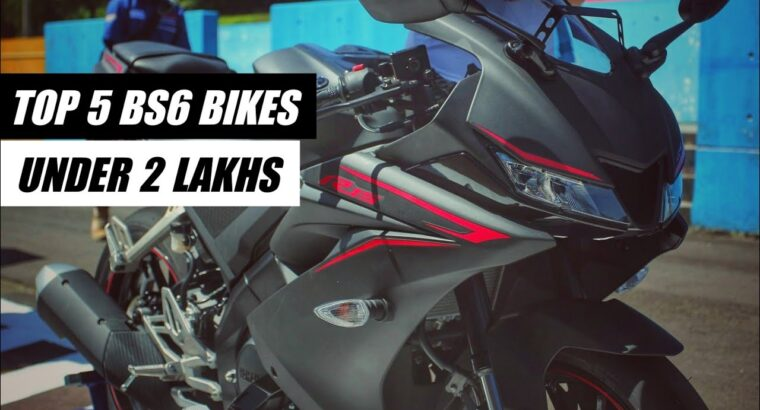 Prime 5 Greatest BS6 Bikes in INDIA Beneath 2 Lakh | Greatest BS6 Bikes in India | K2K Motovlogs #bs6bikes