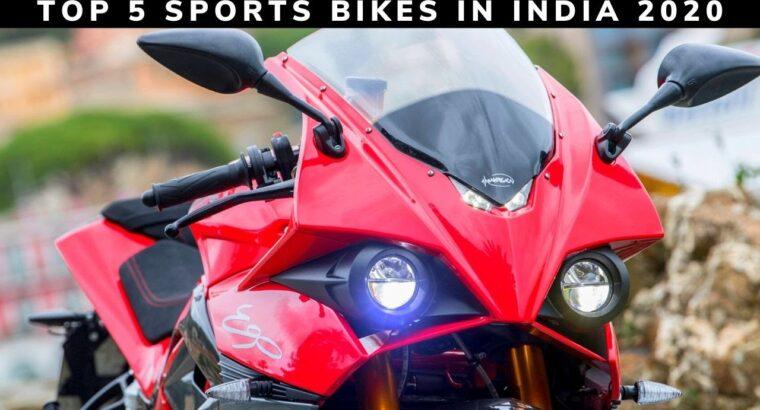 Prime 5 Greatest Sports activities Bikes In India 2020 Beneath 1 Lakhs To 1.80 lakhs    Yamaha, Suzuki & Hero
