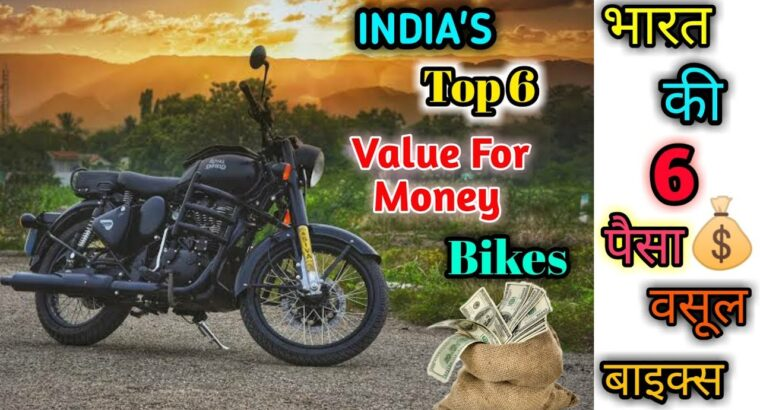 Prime 6 Finest Worth For Cash Bikes in India in 2020|| Finest for you??||Hindi evaluation.