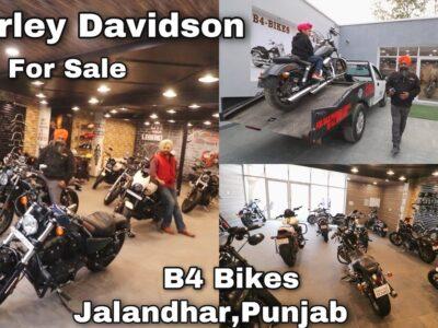 Use Harley Davidson   SuperBikes For Sale   Workshop   B4 Bikes   Jalandhar, Punjab, India