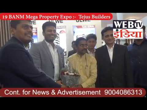 Internet Television India;- 19 BANM Mega Property Expo- Tejus Builders