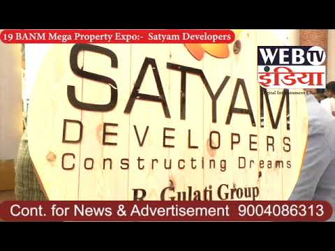 Net television india:- 19 BANM Mega Property Expo – Satyam Builders