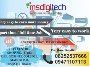 Home based internet job