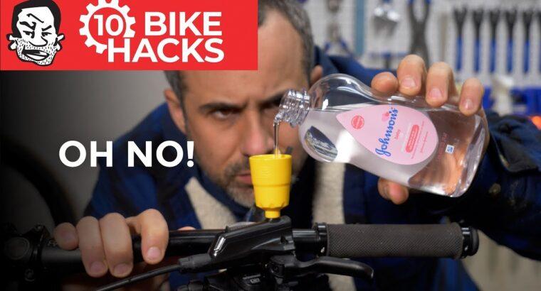 10 Bike Hacks for Mountain Bikers and Past