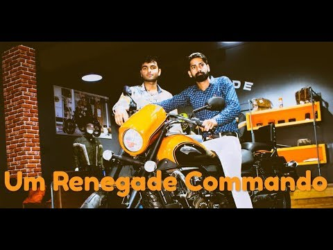2 Lakh Rupees Bike Um Renegade Commando Evaluation In Hindi