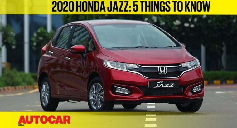 2020 Honda Jazz BS6 – 5 issues to know | First Look | Autocar India