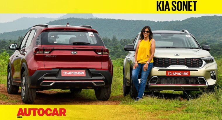 2020 Kia Sonet evaluate – It's a mini Seltos | First Drive | Autocar India