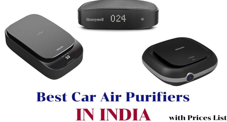 Greatest Automotive Air Purifiers in India Costs Record 2021 [List Updated]