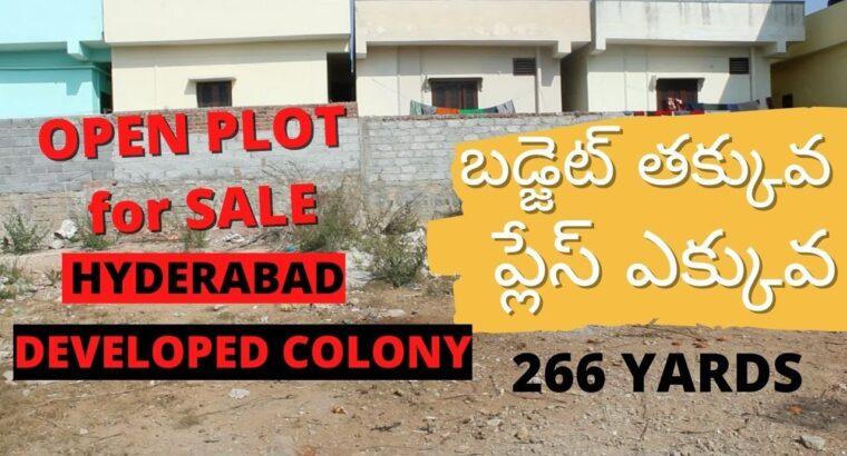 Direct Proprietor Property on the market   Open Plot   BL207