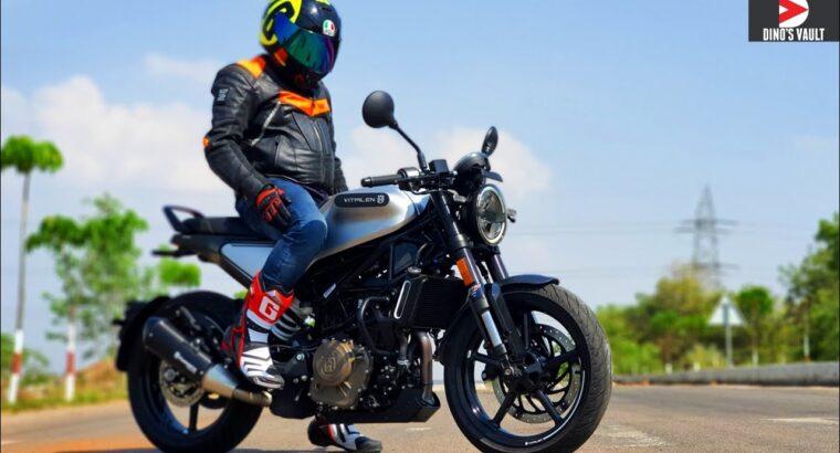 Husqvarna Vitpilen 250 Prime Pace India #Bikes@Dinos