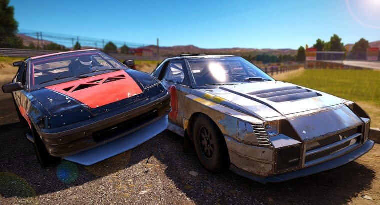I Crashed OB & Checked Out the New Automobiles in Wreckfest Multiplayer Humorous Moments!