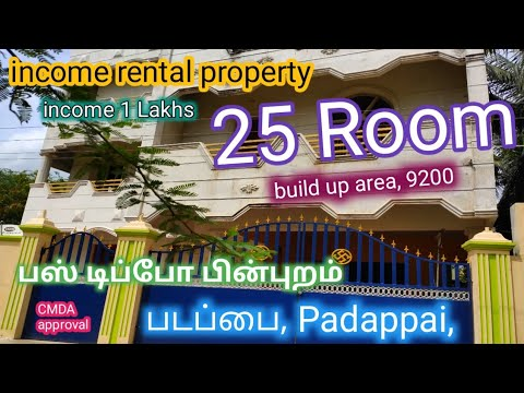 ID 46-rental incoming property on the market padappai tambaram CMDA approval