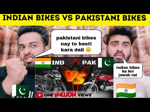 Indian Bikes Vs Pakistani Bikes Comparability 2020 By|Pakistani Bros Reactions|