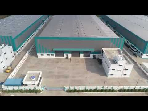 Industrial facility on lease in Chakan Midc space Pune Maharashtra India.
