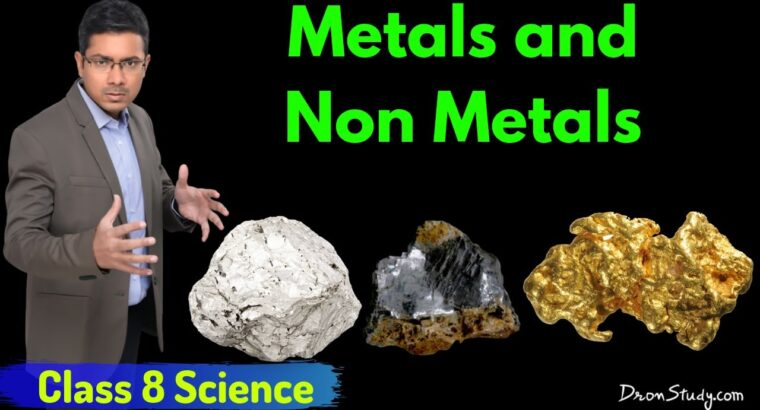 Metals and Non Metals Properties  – Supplies (Chapter 4): CBSE Class eight Science