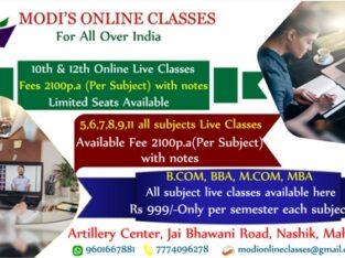 Top online classes for Nashik