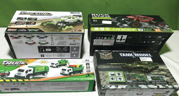My Newest RC toys Assortment , DRIFKING RC CAR , ROCK CRAWLER RC CAR,RC TANK,RC TRUCK II TOK TOK TV