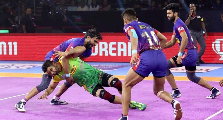 Professional Kabaddi 2019 Highlights   Dabang Delhi vs Patna Pirates   Hindi 66