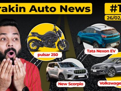 Pulsar 250 Coming Quickly,Volkswagen Virtus Noticed,New Scorpio Spied,Tata Naxon EV Precise Vary-#TAN15