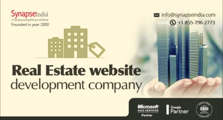 Actual property web site growth firm – SynapseIndia
