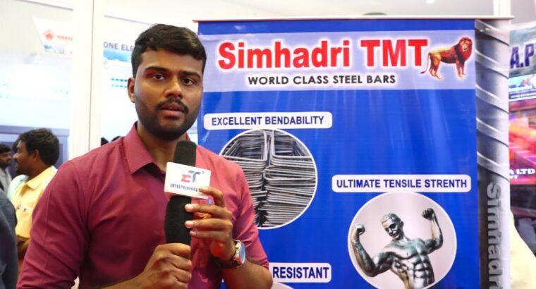 Metal Alternate India Advertising and marketing Excutive Hanuma Teja at NAREDCO AP property Present 2019