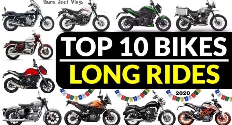 TOP 10 Bikes for Lengthy Rides / Hill Rides In 2020 (BS6 UPDATED)