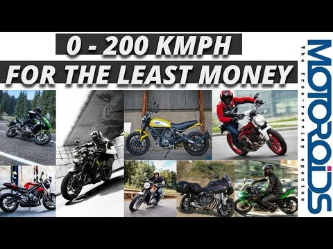 Ten 200 Km/h Bikes for the Least Quantity of Cash in India
