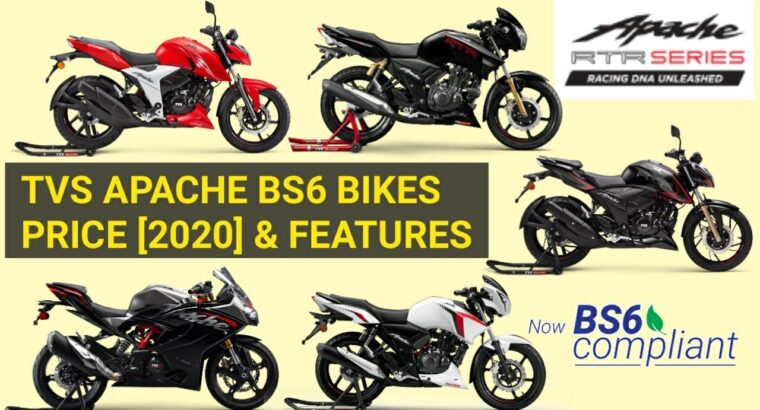 Tvs Apache BS6 Bikes Value Record [2020]   Mileage   Shade   Options   Gasoline Injection   minute