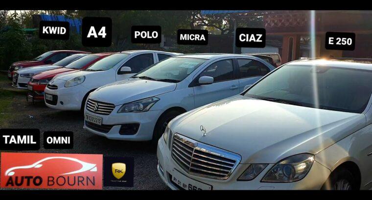 USED CARS COLLECTION | MERC E 250 | CIAZ | MICRA |POLO | KWID | OMNI | A4 | AUTO BOURN | TAMIL | HD
