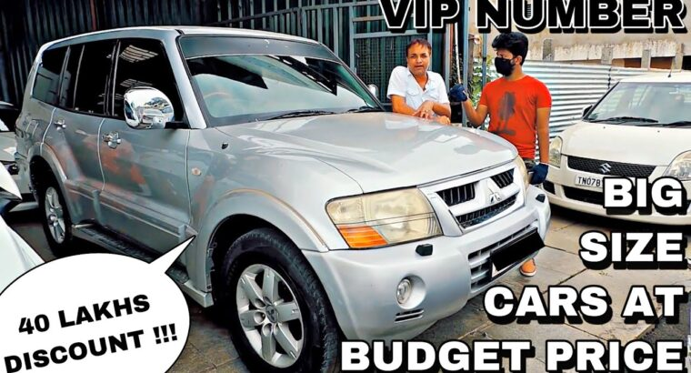 USED CARS FOR SALE AT LOW PRICES | Pajero | Innova | Tulsi Vehicles | Used Vehicles For Sale In Chennai