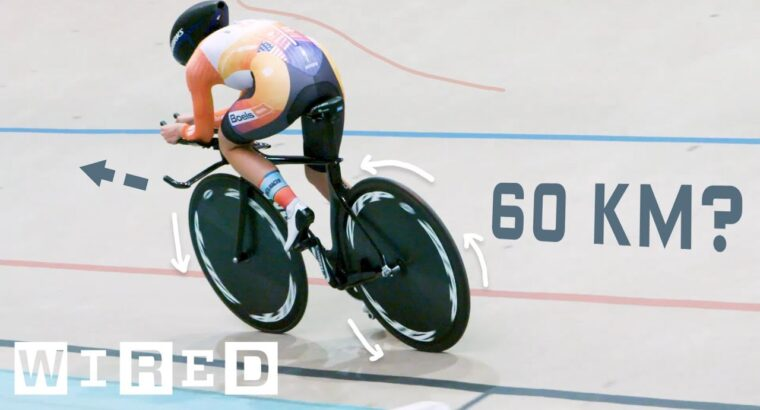 Why It's Virtually Unimaginable to Trip a Bike 60 Kilometers in One Hour | WIRED